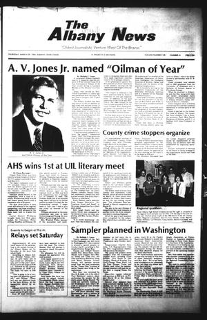 Primary view of object titled 'The Albany News (Albany, Tex.), Vol. 108, No. 41, Ed. 1 Thursday, March 29, 1984'.