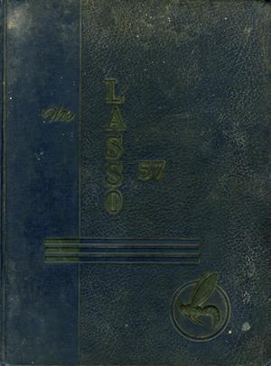 Primary view of object titled 'The Lasso, Yearbook of Howard Payne College, 1957'.
