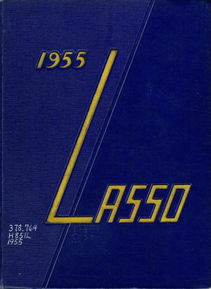 Primary view of object titled 'The Lasso, Yearbook of Howard Payne College, 1955'.