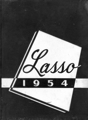 Primary view of object titled 'The Lasso, Yearbook of Howard Payne College, 1954'.