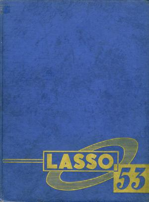 Primary view of object titled 'The Lasso, Yearbook of Howard Payne College, 1953'.
