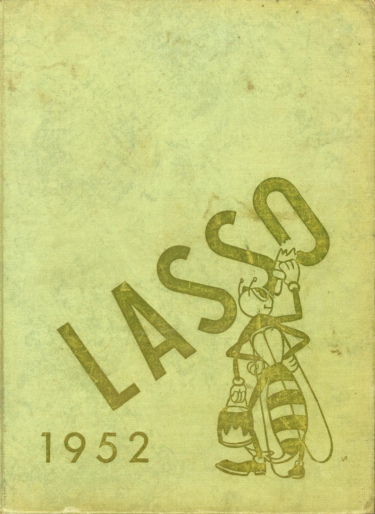 The Lasso, Yearbook of Howard Payne College, 1952                                                                                                      Front Cover