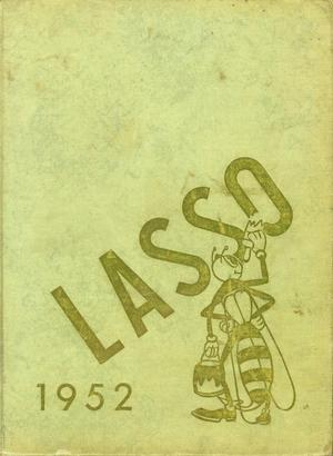 Primary view of object titled 'The Lasso, Yearbook of Howard Payne College, 1952'.
