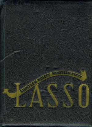Primary view of object titled 'The Lasso, Yearbook of Howard Payne College, 1950'.