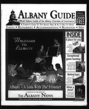 Primary view of object titled 'Albany Guide: Official Visitors Guide of the Albany Chamber of Commerce, Vol. 12, No. 1, Spring/Summer 2008'.