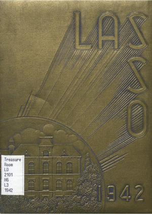 Primary view of object titled 'The Lasso, Yearbook of Howard Payne College, 1942'.