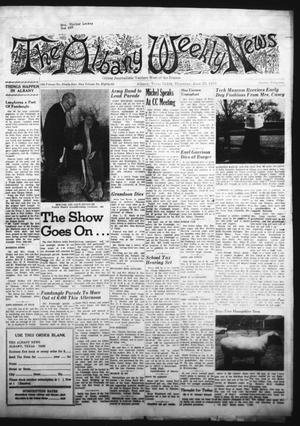 Primary view of object titled 'The Albany News (Albany, Tex.), Vol. 86, No. 44, Ed. 1 Thursday, June 25, 1970'.