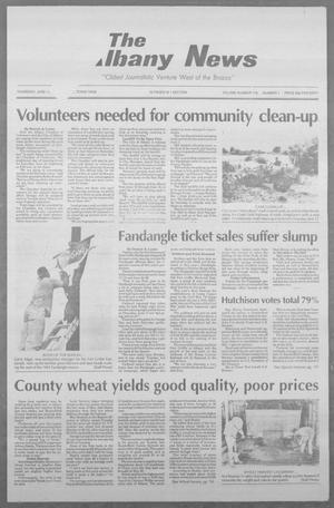 Primary view of object titled 'The Albany News (Albany, Tex.), Vol. 118, No. 1, Ed. 1 Thursday, June 10, 1993'.