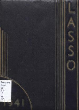 Primary view of object titled 'The Lasso, Yearbook of Howard Payne College, 1941'.