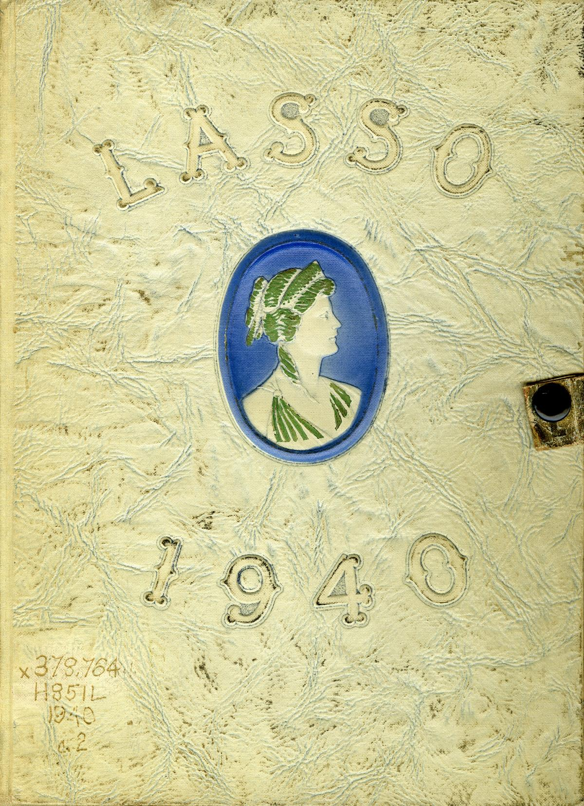 The Lasso, Yearbook of Howard Payne College, 1940                                                                                                      Front Cover