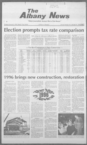 Primary view of object titled 'The Albany News (Albany, Tex.), Vol. 121, No. 31, Ed. 1 Thursday, January 2, 1997'.