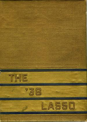 Primary view of object titled 'The Lasso, Yearbook of Howard Payne College, 1938'.
