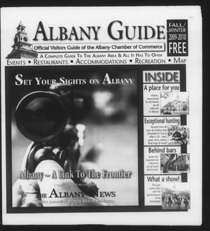Primary view of object titled 'Albany Guide: Official Visitors Guide of the Albany Chamber of Commerce, Vol. 13, No. 2, Fall/Winter 2009-2010'.