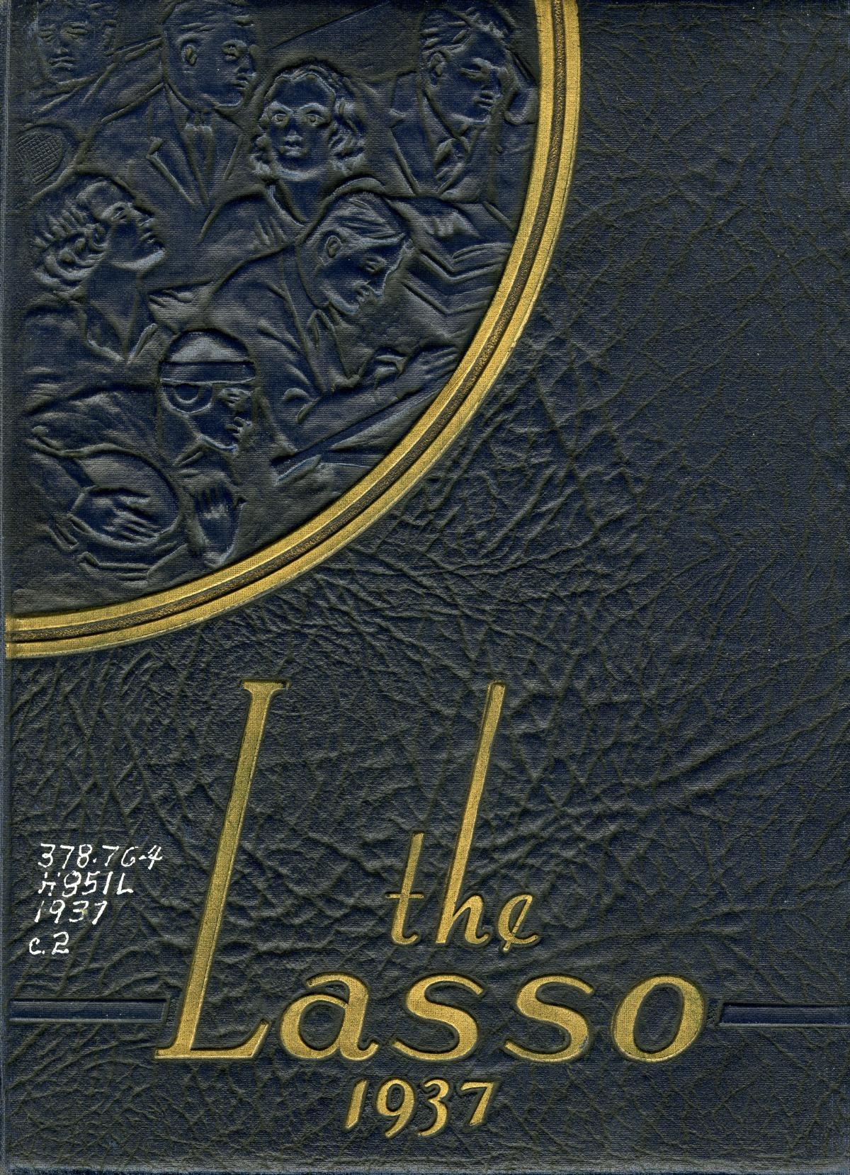 The Lasso, Yearbook of Howard Payne College, 1937                                                                                                      Front Cover
