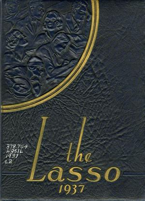 Primary view of object titled 'The Lasso, Yearbook of Howard Payne College, 1937'.
