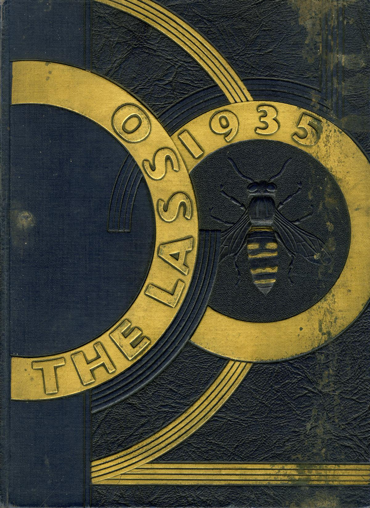 The Lasso, Yearbook of Howard Payne College, 1935                                                                                                      Front Cover