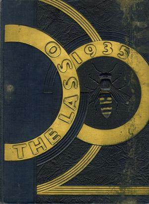 Primary view of object titled 'The Lasso, Yearbook of Howard Payne College, 1935'.