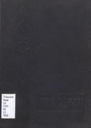 Primary view of object titled 'The Lasso, Yearbook of Howard Payne College, 1933'.