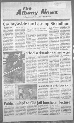 Primary view of object titled 'The Albany News (Albany, Tex.), Vol. 121, No. 9, Ed. 1 Thursday, August 1, 1996'.