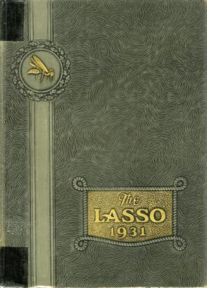 Primary view of object titled 'The Lasso, Yearbook of Howard Payne College, 1931'.