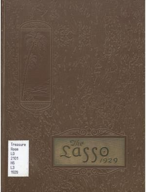 The Lasso, Yearbook of Howard Payne College, 1929