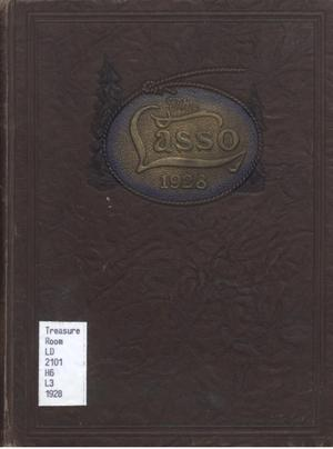 Primary view of object titled 'The Lasso, Yearbook of Howard Payne College, 1928'.