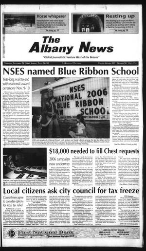 Primary view of object titled 'The Albany News (Albany, Tex.), Vol. 131, No. 18, Ed. 1 Thursday, September 28, 2006'.