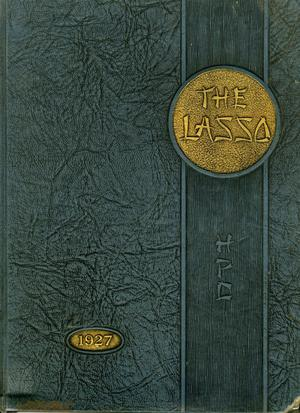 Primary view of object titled 'The Lasso, Yearbook of Howard Payne College, 1927'.