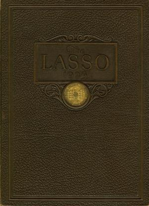 Primary view of object titled 'The Lasso, Yearbook of Howard Payne College, 1925'.
