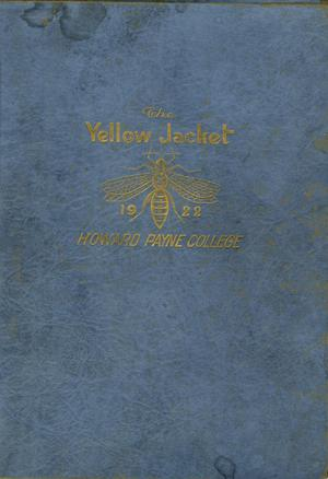 The Yellow Jacket, Yearbook of Howard Payne College, 1922
