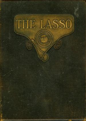 Primary view of object titled 'The Lasso, Yearbook of Howard Payne College, 1921'.