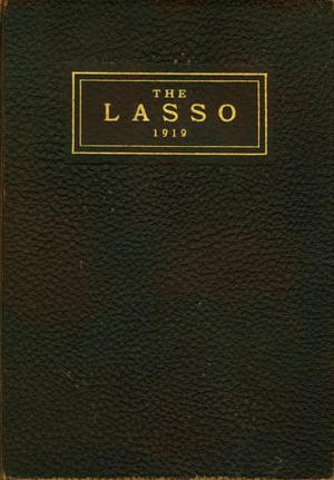 Primary view of object titled 'The Lasso, Yearbook of Howard Payne College, 1919'.