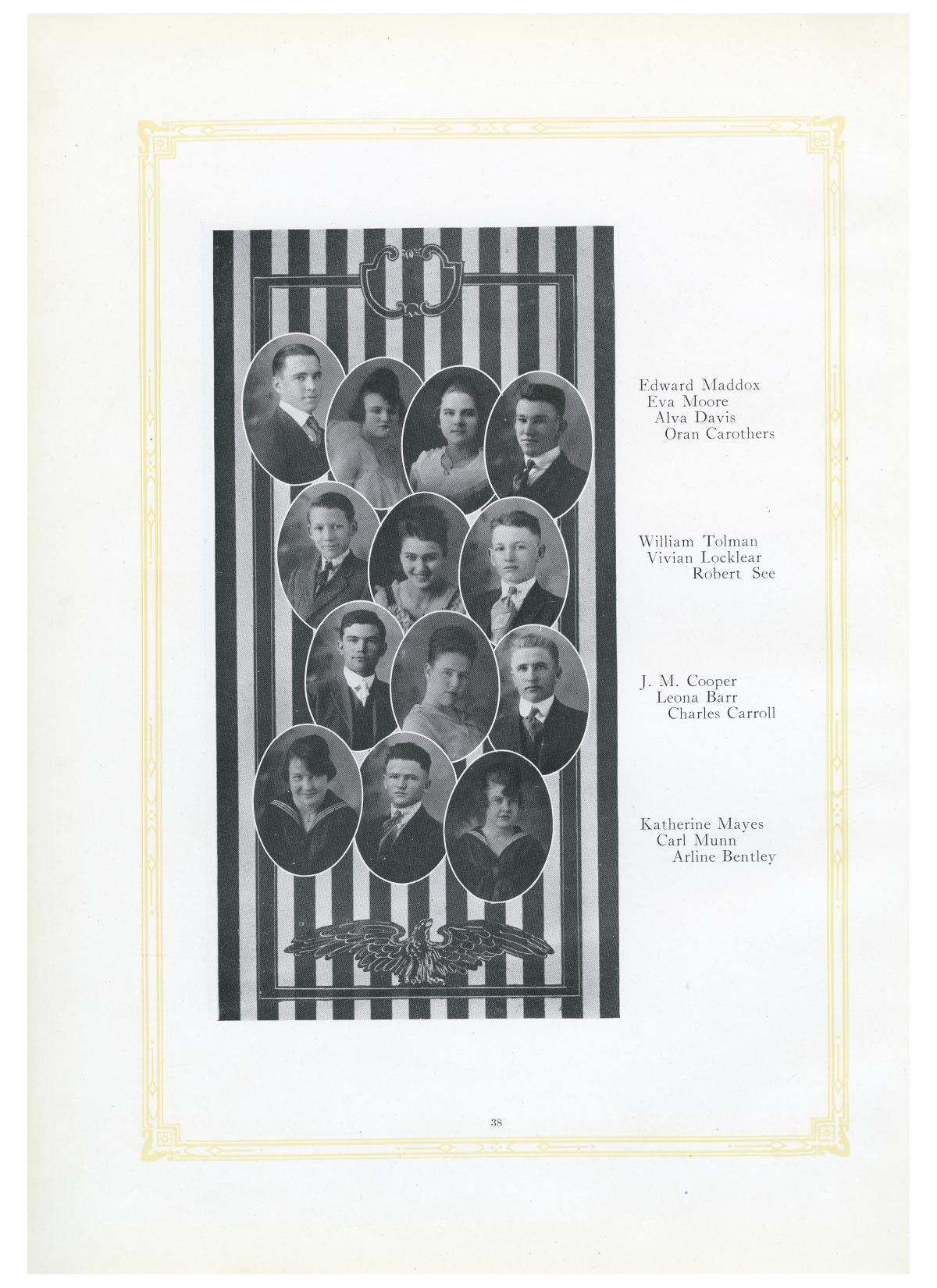 The Lasso, Yearbook of Howard Payne College, 1919                                                                                                      38