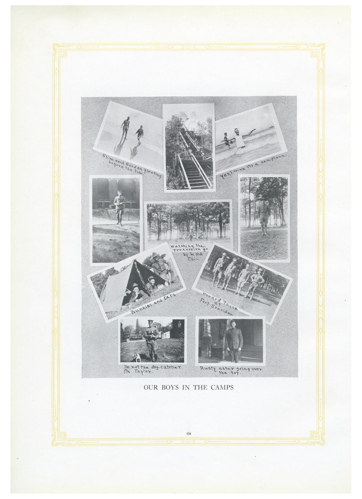 The Lasso, Yearbook of Howard Payne College, 1919                                                                                                      68