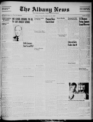Primary view of object titled 'The Albany News (Albany, Tex.), Vol. 72, No. 41, Ed. 1 Thursday, June 21, 1956'.