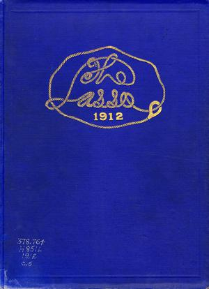Primary view of object titled 'The Lasso, Yearbook of Howard Payne College, 1912'.
