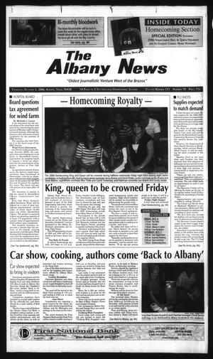 Primary view of object titled 'The Albany News (Albany, Tex.), Vol. 131, No. 19, Ed. 1 Thursday, October 5, 2006'.