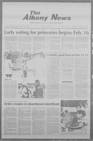 Primary view of object titled 'The Albany News (Albany, Tex.), Vol. 118, No. 36, Ed. 1 Thursday, February 10, 1994'.