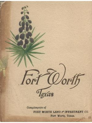 Primary view of object titled 'Photographs of Fort Worth.'.