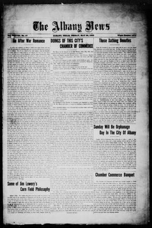 Primary view of object titled 'The Albany News (Albany, Tex.), Vol. 38, No. 47, Ed. 1 Friday, May 26, 1922'.