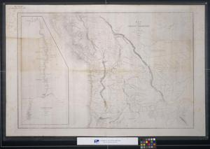 Primary view of object titled 'Map of the Oregon Territory'.