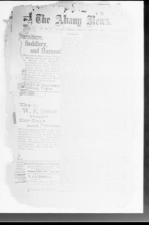 Primary view of object titled 'The Albany News. (Albany, Tex.), Vol. 14, No. [37], Ed. 1 Friday, December 24, 1897'.