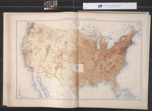 Primary view of object titled 'Distribution of the Population of the United States: 1890'.