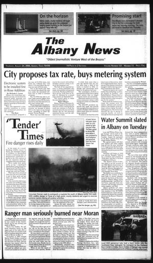 Primary view of object titled 'The Albany News (Albany, Tex.), Vol. 131, No. 13, Ed. 1 Thursday, August 24, 2006'.