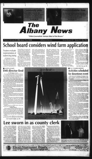 Primary view of object titled 'The Albany News (Albany, Tex.), Vol. 131, No. 17, Ed. 1 Thursday, September 21, 2006'.
