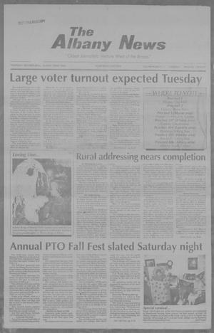 Primary view of object titled 'The Albany News (Albany, Tex.), Vol. 117, No. 21, Ed. 1 Thursday, October 29, 1992'.