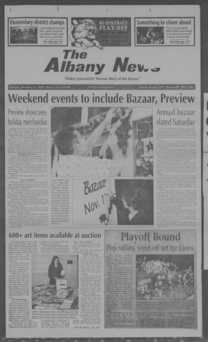 Primary view of object titled 'The Albany News (Albany, Tex.), Vol. 129, No. 24, Ed. 1 Thursday, November 11, 2004'.