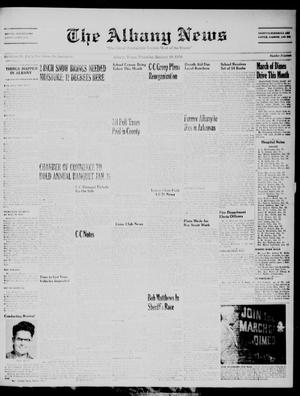 Primary view of object titled 'The Albany News (Albany, Tex.), Vol. 72, No. 19, Ed. 1 Thursday, January 19, 1956'.