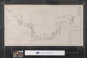 Primary view of object titled 'Sketch of part of the march & wagon road of Lt. Colonel Cooke'.
