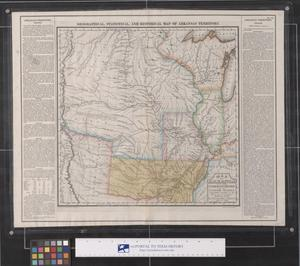 Primary view of object titled 'Map of Arkansa and other Territories of the United States'.